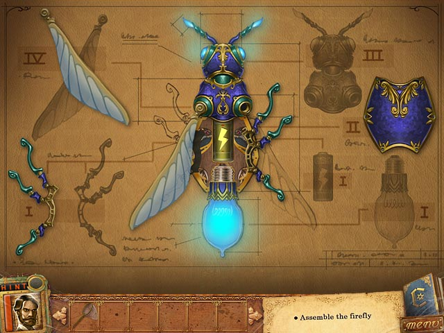 Fantastic Creations: House of Brass - Mechanical Firefly can show the way to freedom!