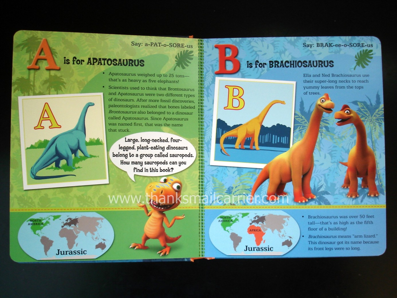 Dinosaur Train Apatosaurus Both of my kids found this