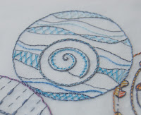 seashell embroidery pattern