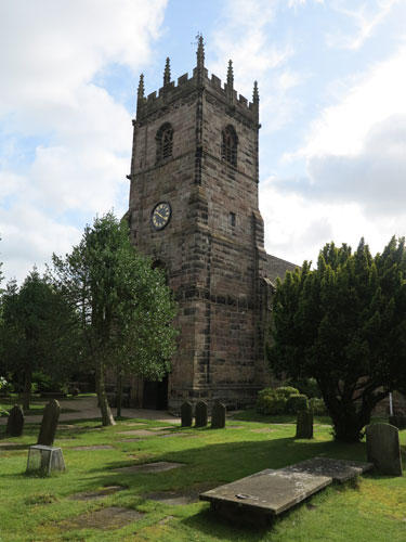 St Peter's Church Prestbury, Cheshire
