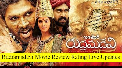 Rudhramadevi Review Rating