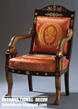 Bon UK Antique Chair Style, Red Arm Chair From Old Furniture UK