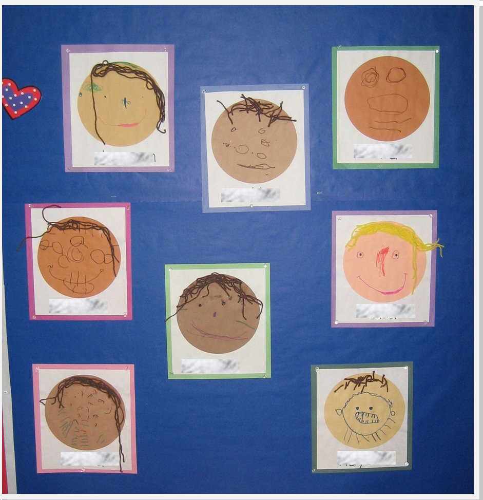 Teaching the little people all about me in preschool for All about me toddler crafts