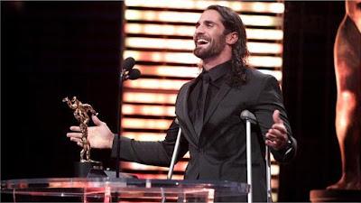 Slammys Seth Rollins RAW WWE Award Show Injured Return