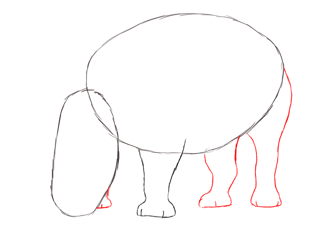 How To Draw A Rhino Draw Central
