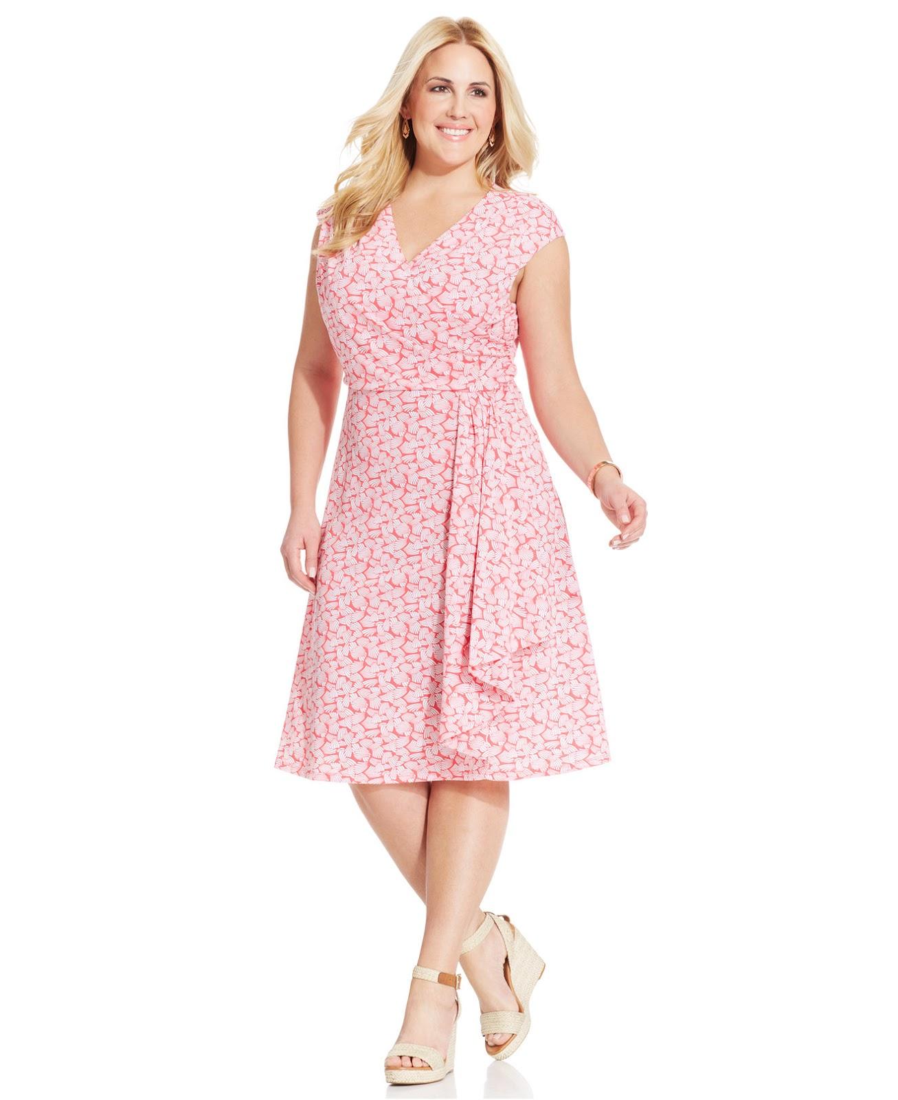 Llamativos vestidos cortos para gorditas | Vestidos de tallas ...
