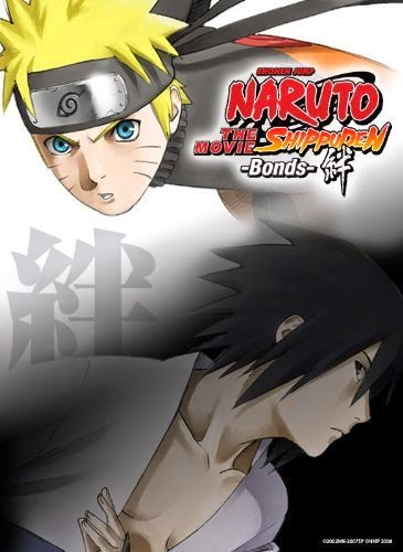 Naruto Shippuden The Movie: Bonds (2008) Bluray