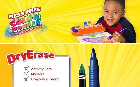 Crayola color wonder dry erase