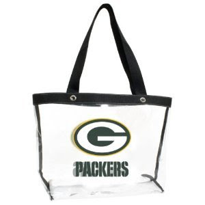 Green Bay Packers NFL Clear Tote Bag Purse