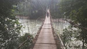 Jembatan Gantung Di Pelosok Kabupaten Bogor Butuh Perhatian Pemerintah