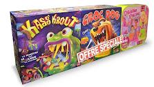 Bon plan Noël, offre spéciale : 3 jeux pour le prix d'un : Kass'Krout + Croc Dog + Dream Phone