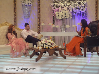 Sadia Imam and her husband Adnan Haider in GMP Show ( Pictures )
