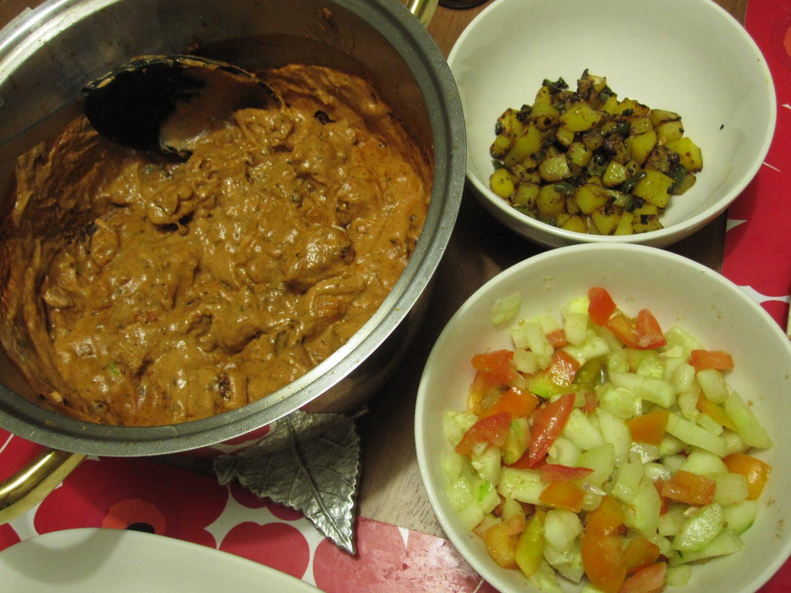 Here tishie tishie recipe chicken tikka masala plus two side dishes chicken tikka masala forumfinder Image collections