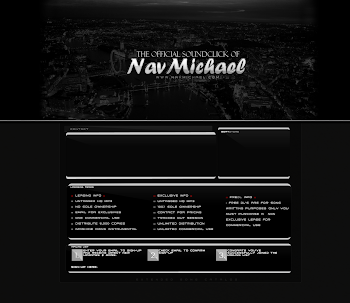 Custom SoundClick Design For Nav Michael