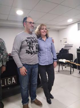 Amb Maria Carme Roca