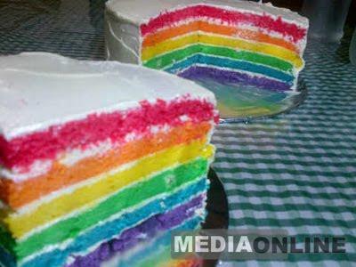 Resep Rainbow Cake