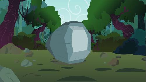 It's a rock.