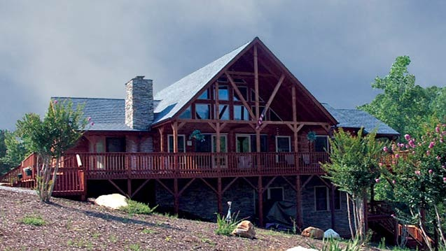 Modular Home Builder Blue Ridge Log Cabins Next Extreme