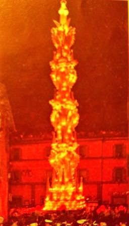 Macchina Santa Rosa per Unesco