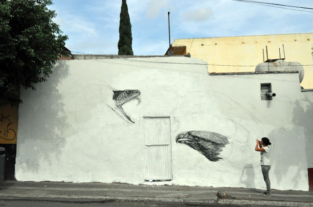 Street Art By Alexis Diaz For Board Dripper In Queretaro, Mexico. 2