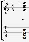 G7 guitar chord 12