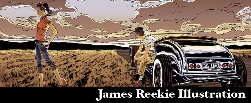 James Reekie Illustration