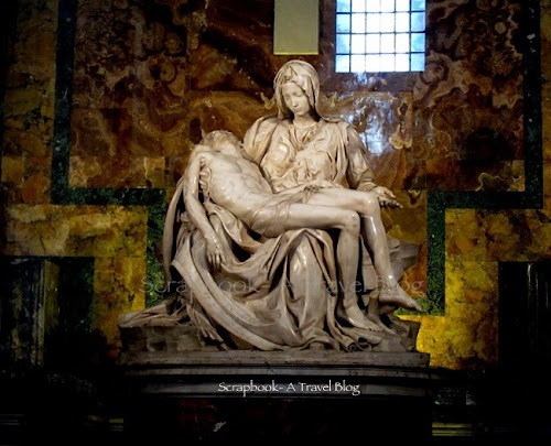 Pieta by Michelangelo in St Peter's Basilica Vatican City