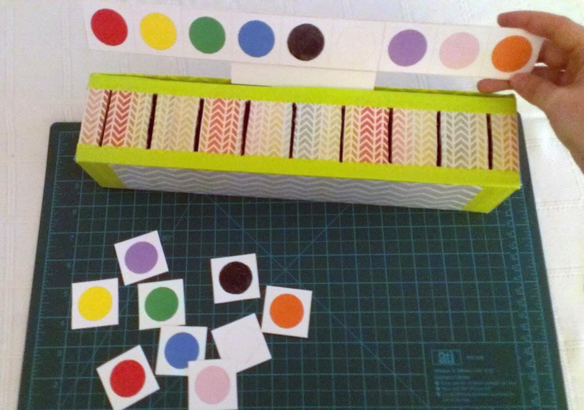 DIY juego colores