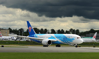 China Southern Airlines will receive its first Boeing 787 on 31st May 2013