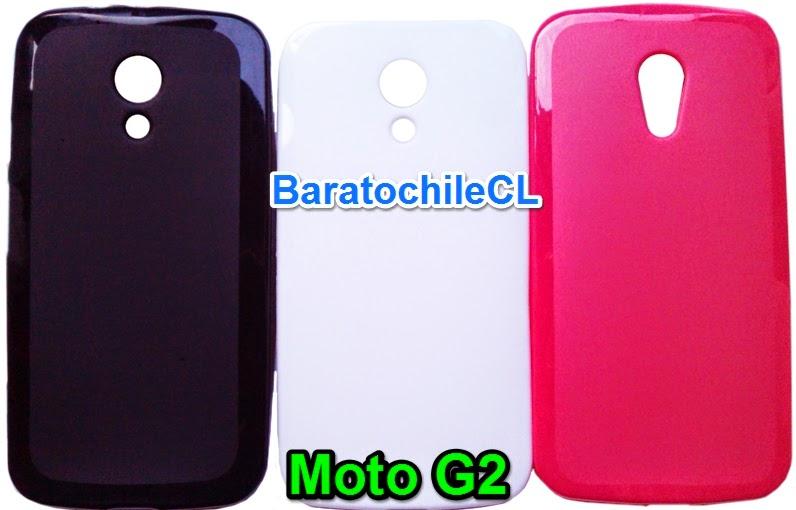 Carcasa Gel Moto G2 2da generacion