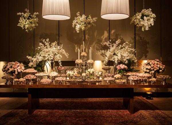 ... de casamento rosa e branca. Foto # decoracao branca e rosa para