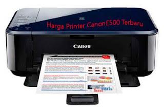 harga printer canon E500