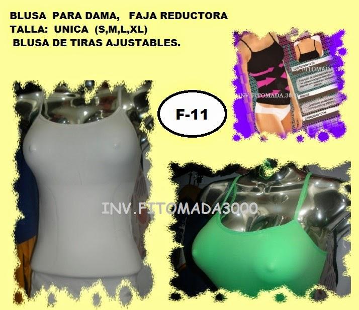 BLUSAS MODELADORAS DE TIRIRAS