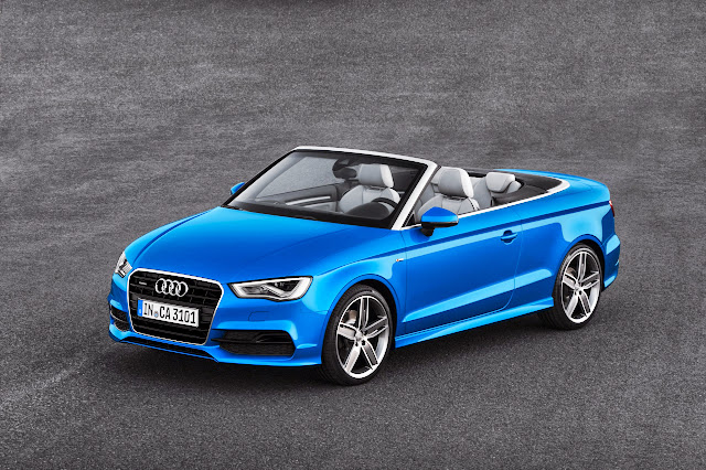 Audi A3 and S3 Cabriolet: 2 Less Doors and One Less Roof on the Baby Audi [Video]