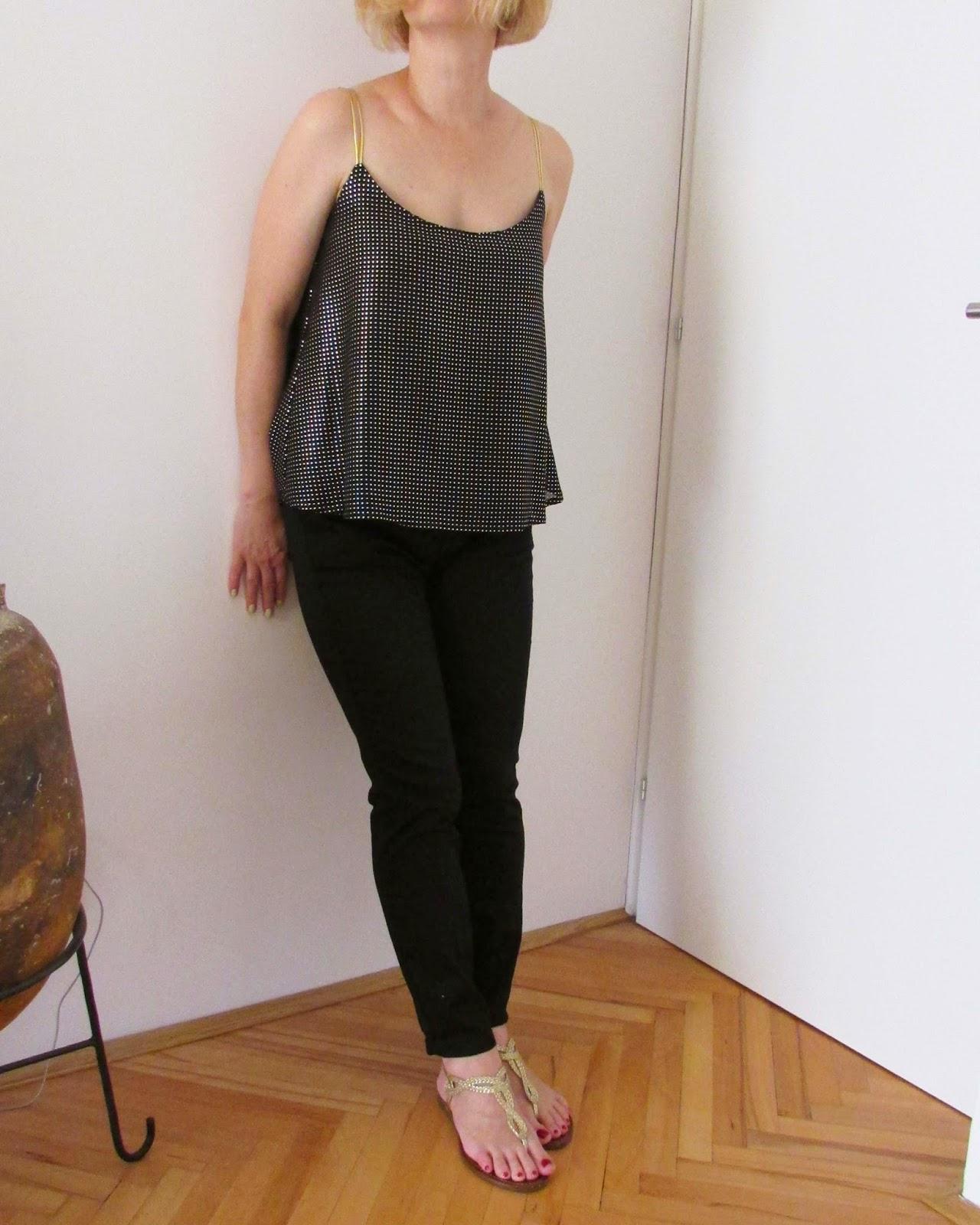 http://ladylinaland.blogspot.com/2014/08/metallic-tops.html