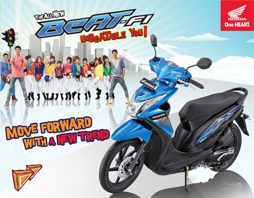 New Honda Beat-fi With Faces