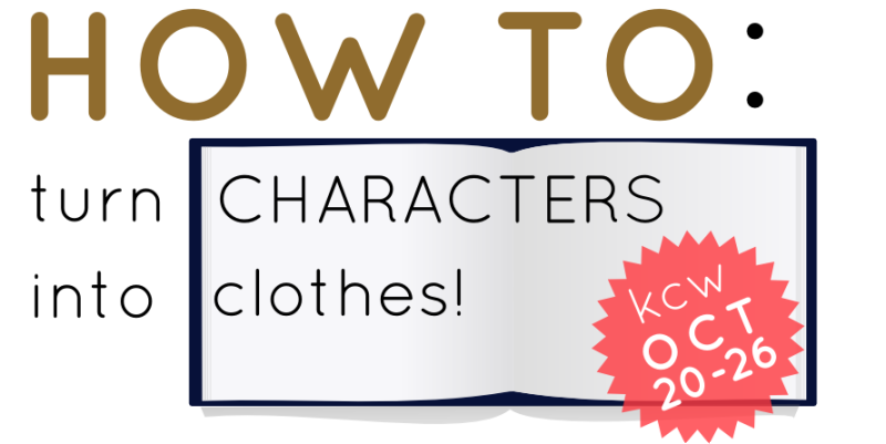 how to turn characters into clothes
