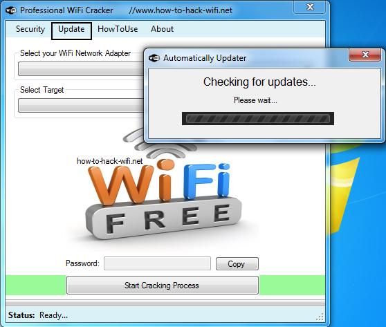 wifi password cracking application