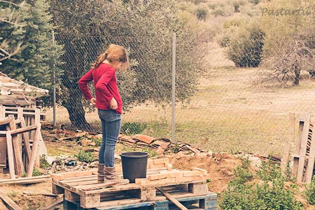 proyecto 52 - 16 construyendo una cabaña