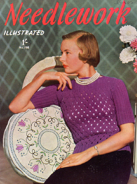 1940's Knitting - Ladies Jersey free pattern