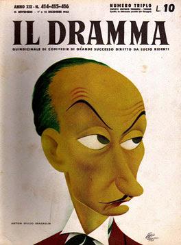 Il Dramma n. 414-415-416, 15 novembre 1-15 dicembre 1943, copertina
