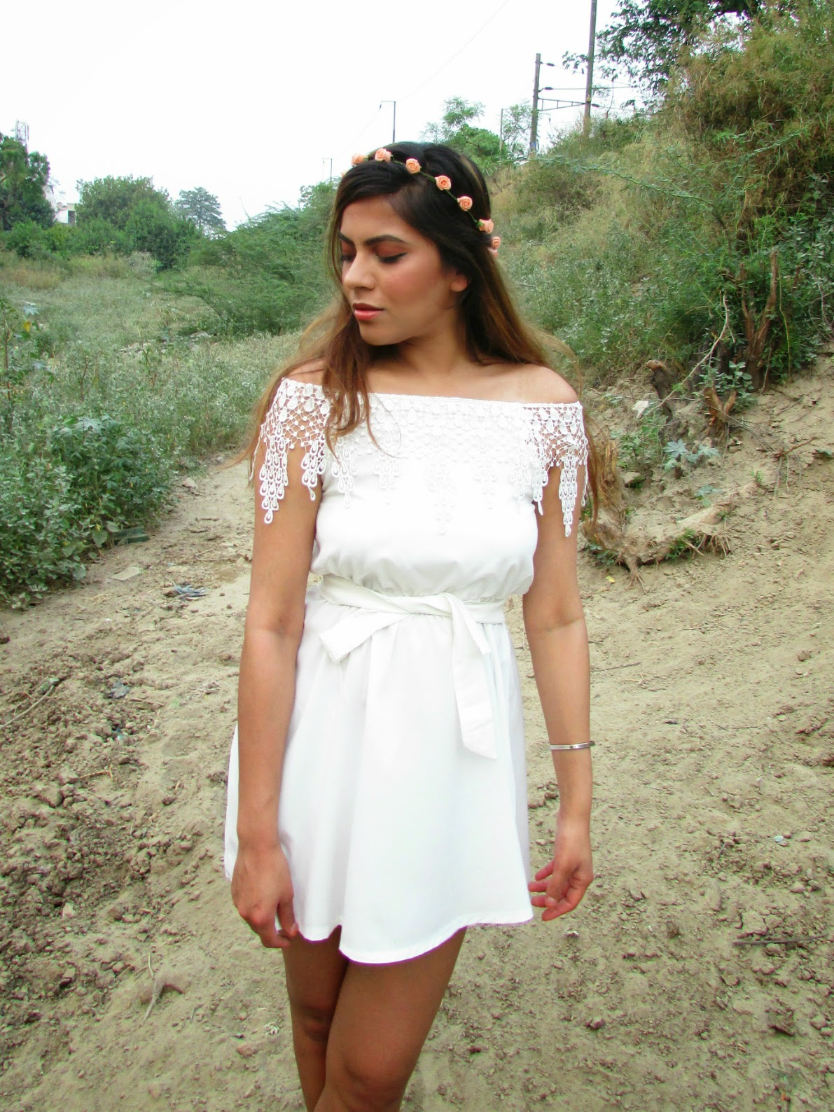 summer dress, white summer dress, off shoulder dress, floral crown, how to style off shoulder dress, fashion, ZNU, indian fashion blog, flat shoulder dress, white lace dress, boho style outfit, summer goddess dress,  strip dress, cheap strip dress, how to style strip dress, strip dress for summers, blue white strip sleeveless dress, peter pan collar strip dress, fashion, indian fashion blog, cheap dresses online, summer trends 2015, spring dress 2015, beauty , fashion,beauty and fashion,beauty blog, fashion blog , indian beauty blog,indian fashion blog, beauty and fashion blog, indian beauty and fashion blog, indian bloggers, indian beauty bloggers, indian fashion bloggers,indian bloggers online, top 10 indian bloggers, top indian bloggers,top 10 fashion bloggers, indian bloggers on blogspot,home remedies, how to