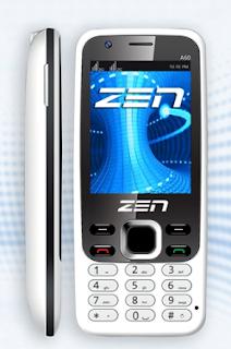 Zen A60 3G Dual SIM Dual Camera Mobile
