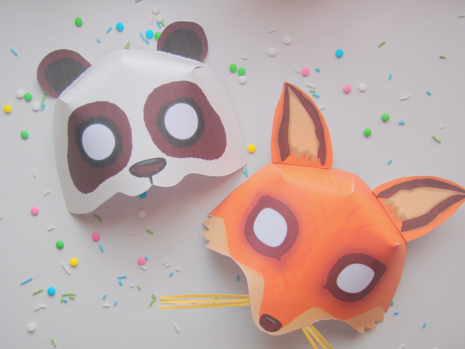 De jolis masques imprimer pour mardi gras - Masque de renard a imprimer ...