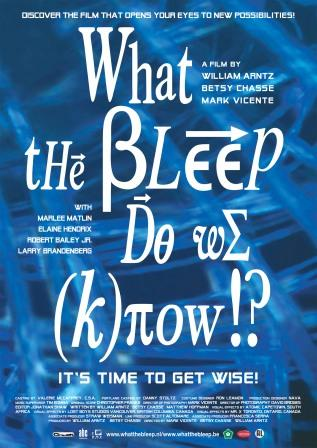 the bleep do we know essay The american dream (film) from  what the bleep do we know  being unconstitutional, and as pile tries to calm him down he asks do you even know.