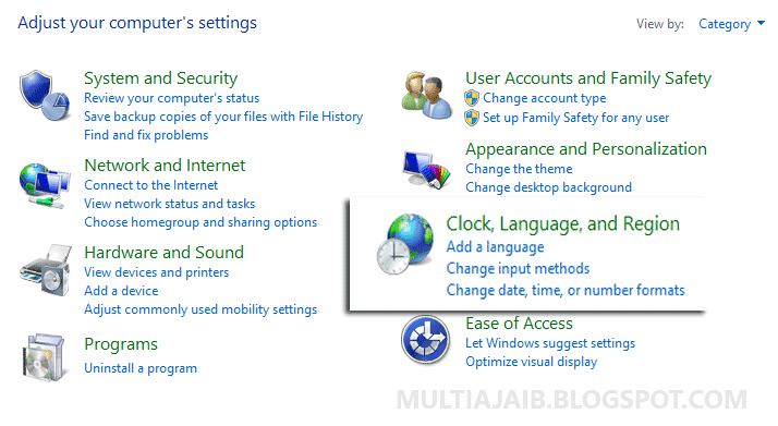 Cara Mengaktifkan Font Arabic di Windows 7