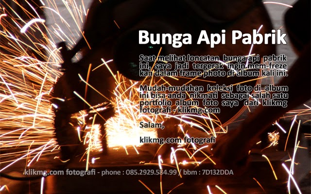 Bunga Api Pabrik - foto oleh : KLIKMG Foto (Fotografer Wedding & Prewedding)