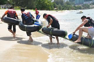 Penang Beach Raft Raft Adventure Teambuilding - www.bigtreetours.com