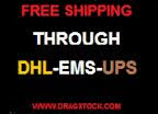Free Shipping through dhl-ems-ups