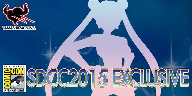 S.H. Figuarts Sailormoon SDCC exclusive banner image